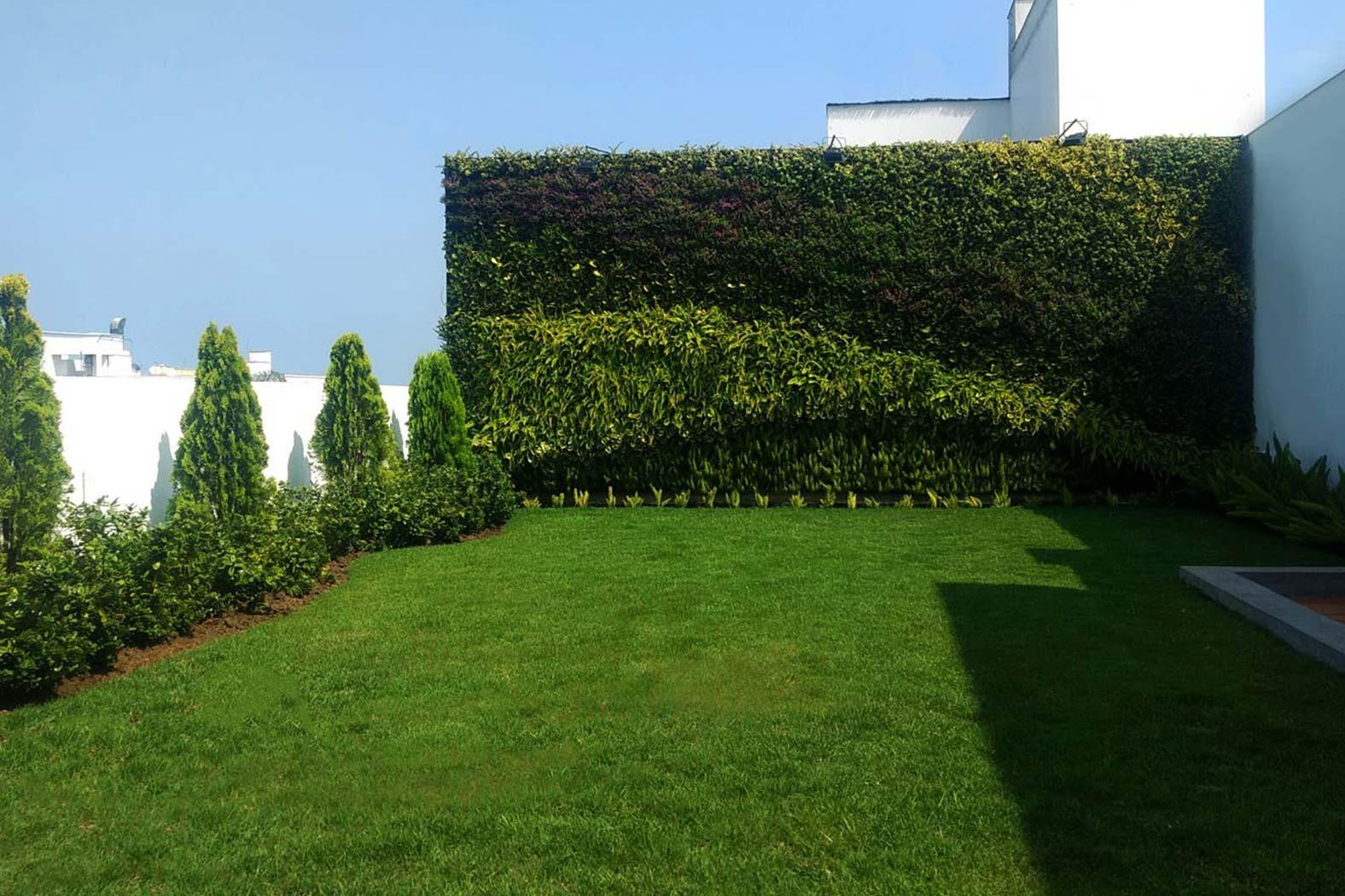 Proyectos jard n vertical jardines verticales for Jardines verdes